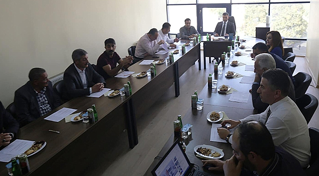 Iğdır İli Çevre Hizmetleri Birliği Toplantısı Yapıldı