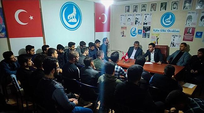 Iğdır Ülkü Ocaklarından Barış Pınarı Harekatına Tam Destek