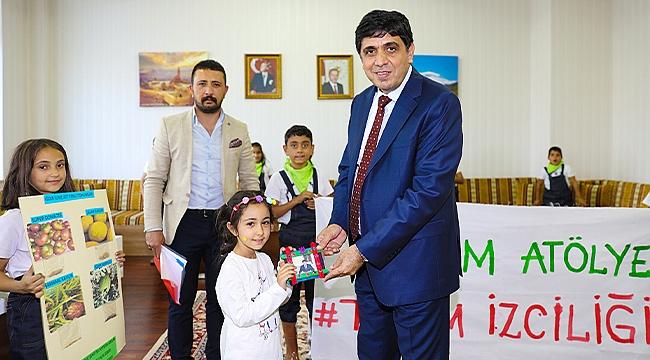 Şehit Er Aytekin Arslan İlkokulu Öğrencileri Iğdır Üniversitesini Ziyaret Etti