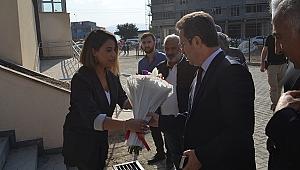 Vali Ünlü'den Yeni Açılan Atatürk İlkokuluna Ziyaret
