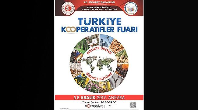 Türkiye Kooperatifler Fuarı 5-8 Aralık'ta Düzenlenecek