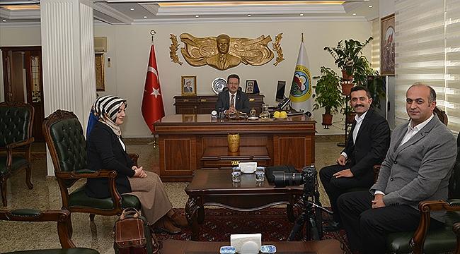Anadolu Ajansı Muhabirlerinden Vali Ünlü'ye Ziyaret