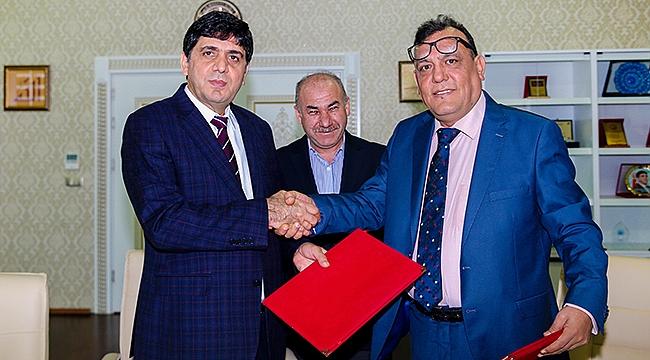 Iğdır Üniversitesi ile International Suleiman University Arasında İşbirliği Protokolü