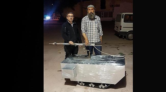 Iğdır Üniversitesi Öğr. Gör. Murat Şimşek Paletli Araç Prototipi 'Çeri'yi Üretti
