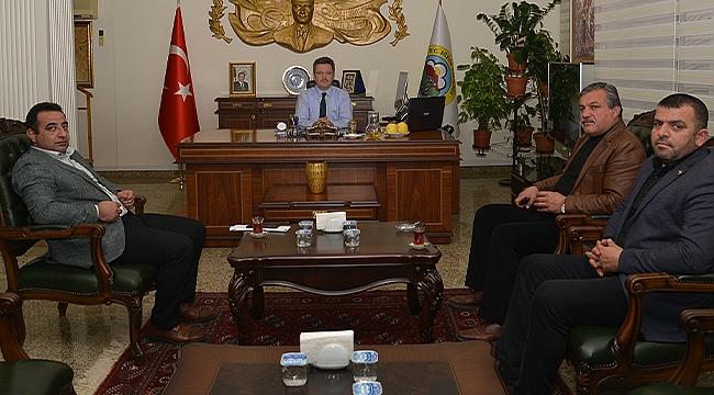 İl Genel Meclis Üyelerinden Vali Ünlü'ye Ziyaret