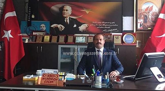 Başkan Çeçen'den 20 Yanvar Mesajı