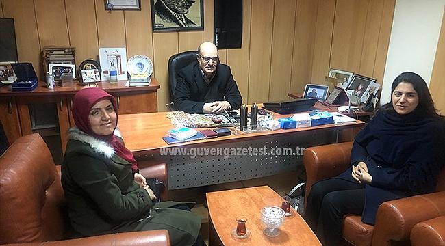 KADEM'den Gazeteciler Günü Ziyareti