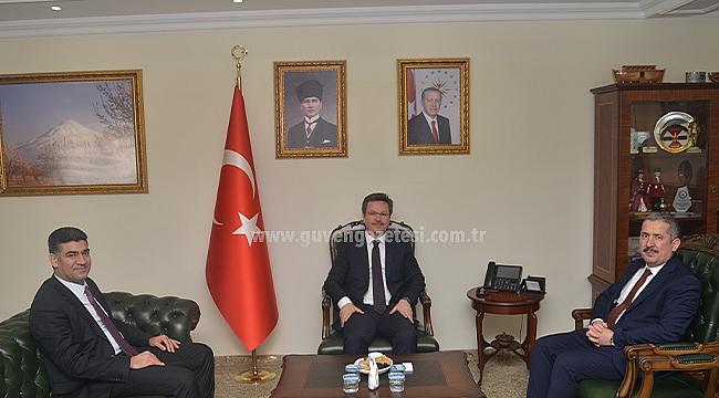 AK Parti Heyetinden Vali Ünlü'ye Ziyaret