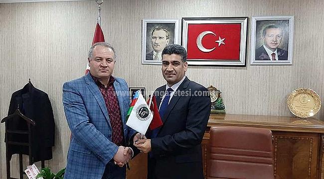 ASİMDER'den AK Parti İl Başkanı Ayaz'a Ziyaret