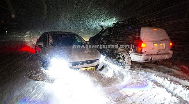 Kar Nedeniyle Kapanan Iğdır-Ağrı Yolu Ulaşıma Açıldı