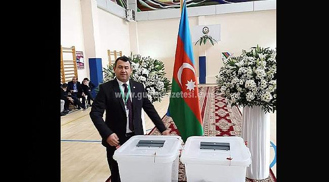 MHP Iğdır Milletvekili Yaşar Karadağ Erken Genel Seçimler İçin Azerbaycan'da