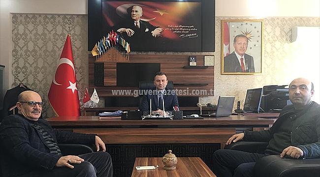 Tuzluca İlçe Milli Eğitim Müdürü Ozan Malkoç'a Ziyaret