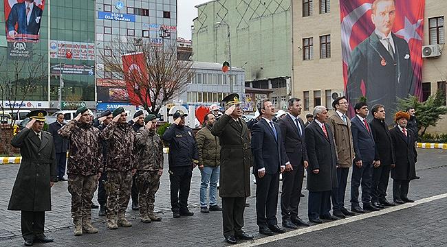 18 Mart Çanakkale Zaferi ve Şehitleri Anma Günü Töreni Düzenlendi