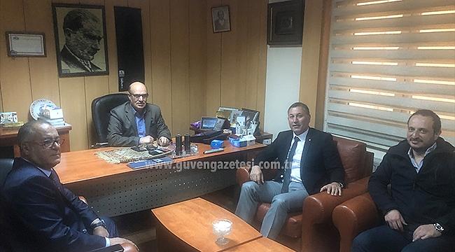 Bursa Iğdırlılar Derneğinden Gazetemize Ziyaret