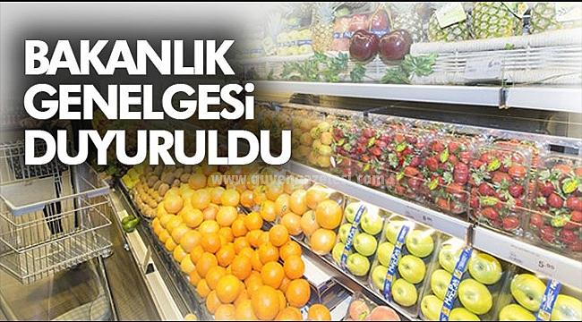 İçişleri Bakanlığı Marketlerle İlgili Genelge Yayınladı