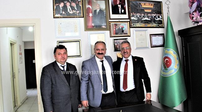 İl Tarım ve Orman Müdürü Özkan Yolcu Tuzluca'da