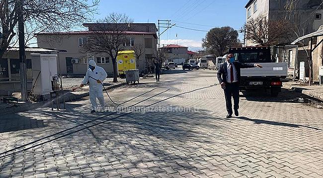 Melekli Belediyesinden Dezenfektan Çalışması
