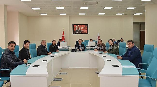 """""""Sokağa Çıkma Yasağı"""" Genelgesi Kapsamında Koordinasyon Toplantısı Düzenlendi"""