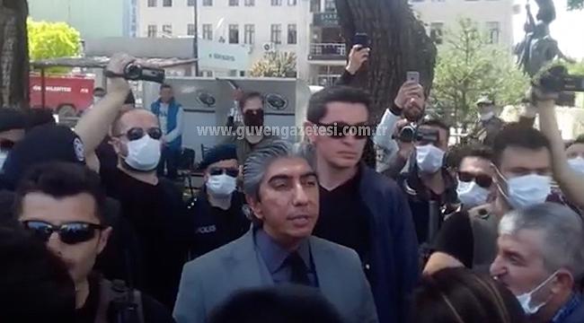 Basın Açıklaması Yapmak İsteyen HDP'lilere Polis Engeli
