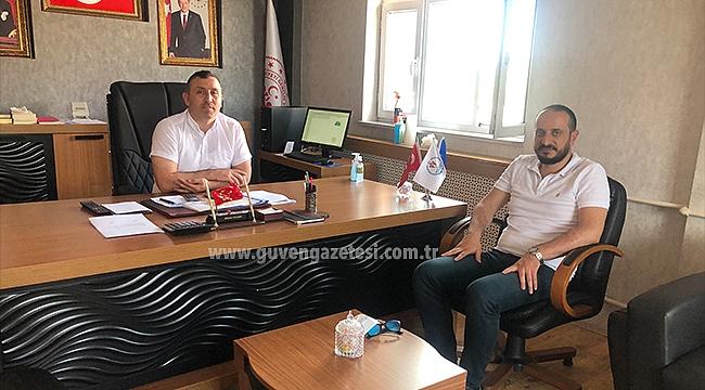 Gençlik ve Spor İl Müdürü Gökhan Yavaşer'e Hayırlı Olsun Ziyareti