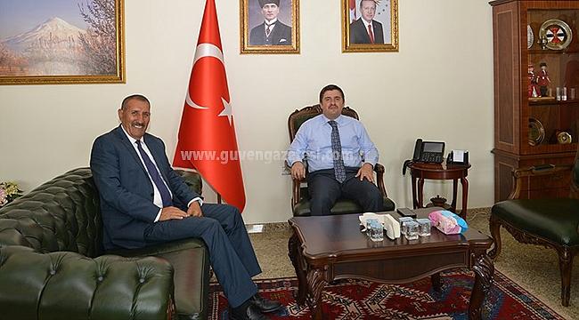 26. Dönem Milletvekili Aras'tan Vali Sarıibrahim'e Hayırlı Olsun Ziyareti