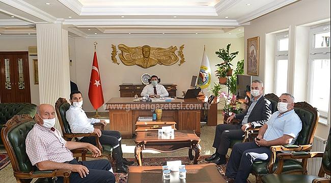 AK Parti Merkez İlçe Başkanından Vali Sarıibrahim'e Ziyaret
