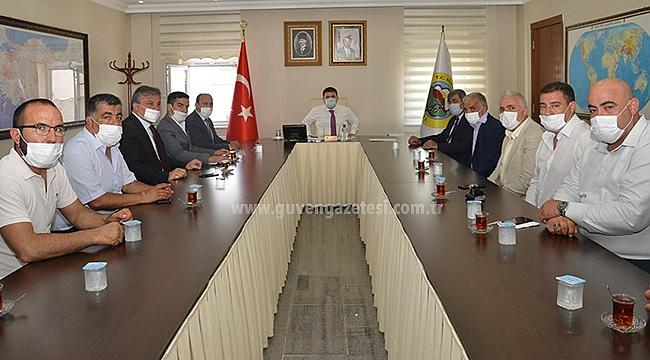 MHP Iğdır Teşkilatından Vali Sarıibrahim'e Ziyaret