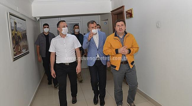 Vali Sarıibrahim'den İl Özel İdaresine Ziyaret