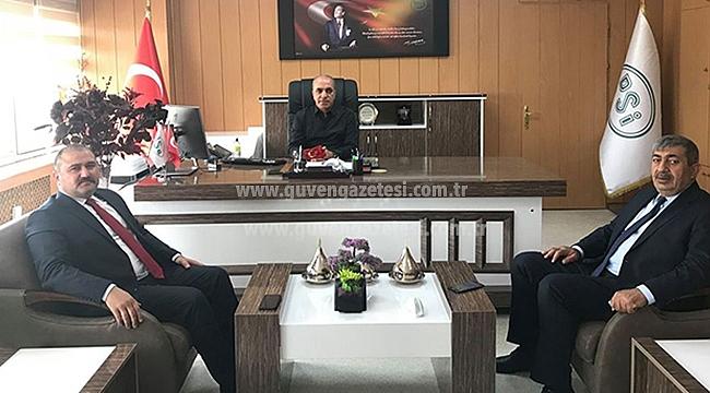 Belediye Başkanlarından DSİ Bölge Müdürlüğüne Ziyaret