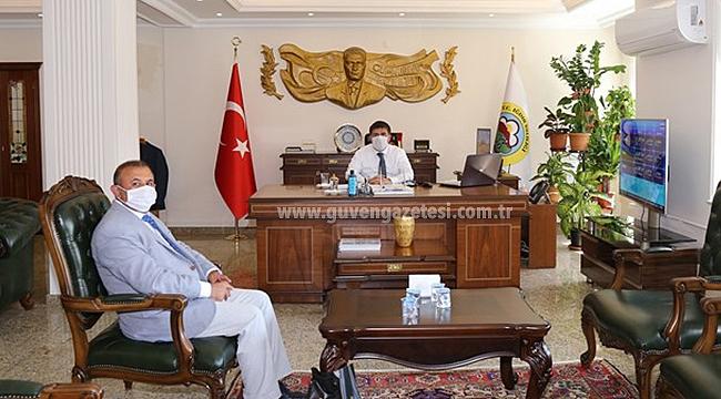 İSTAD Başkanı Karakoyunlu'dan Vali Sarıibrahim'e Hayırlı Olsun Ziyareti