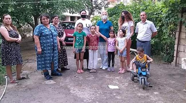 Azerbaycan'da Kaçkın Aileler Kurban Bayramında Sevindirildi