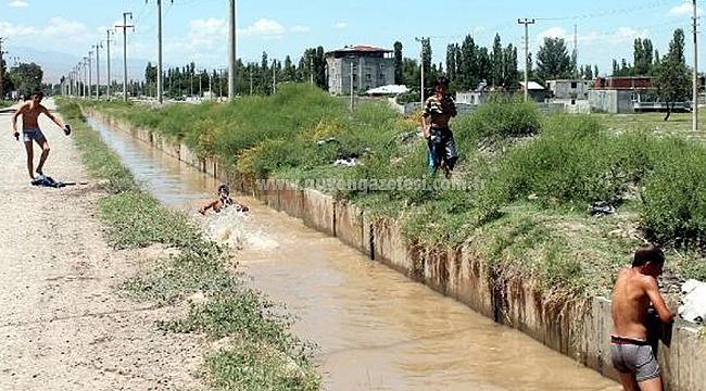 Sulama Kanallarına Girmek Büyük Tehlike Arz Ediyor