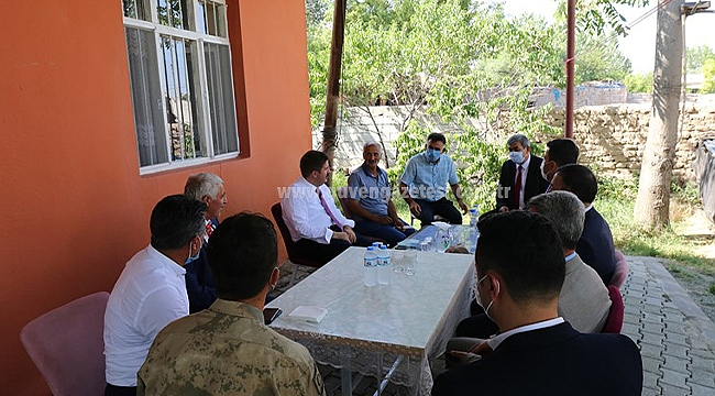 Vali Sarıibrahim'den Şehit Fatih Kara'nın Ailesine Bayram Ziyareti