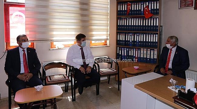 Vali Sarıibrahim'den Şehit ve Gazi Aileleri Derneğine Ziyaret