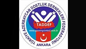TADDEF'ten Ermenistan'a Tepki