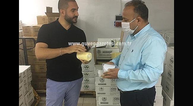 İl Müdürü Yolcu'dan İstanbul'da Has Mandıra Satış Mağazasına Ziyaret