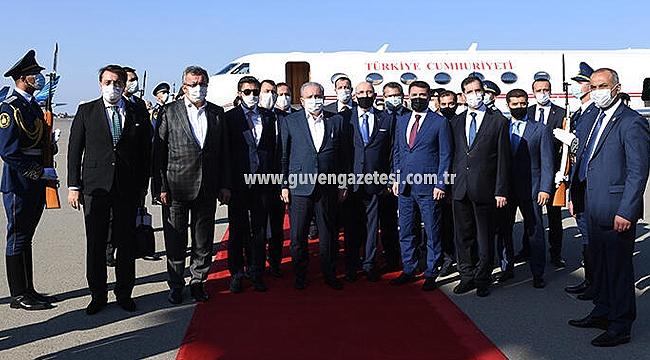 Milletvekilleri Yaşar Karadağ ve Şamil Ayrım TBMM Başkanı ile Beraber Bakü'de