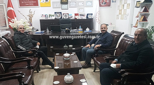 Doğu Anadolu Tarımsal Araştırma Enstitüsü Müdüründen İl Müdürü Yolcu'ya Ziyaret