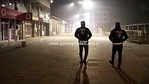 Iğdır'da Yasaklarda Cadde ve Sokaklar Boş Kaldı
