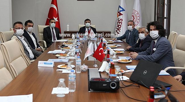 Vali Sarıibrahim Başkanlığında SERKA Toplantısı Yapıldı