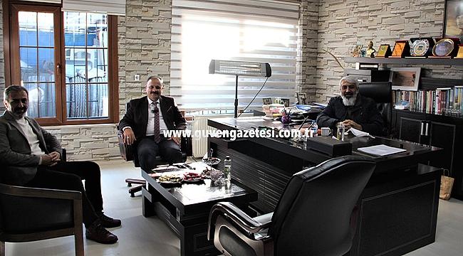 İl Tarım Müdürü Yolcu'dan İş İnsanı Arslantürk'e Ziyaret