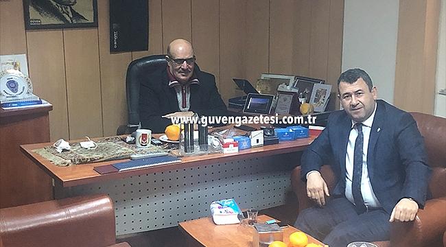 MHP Iğdır Milletvekili Karadağ'dan Gazetemize Ziyaret