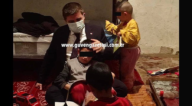 Vali Sarıibrahim'den İhtiyaç Sahibi Aileye Çatkapı Ziyaret