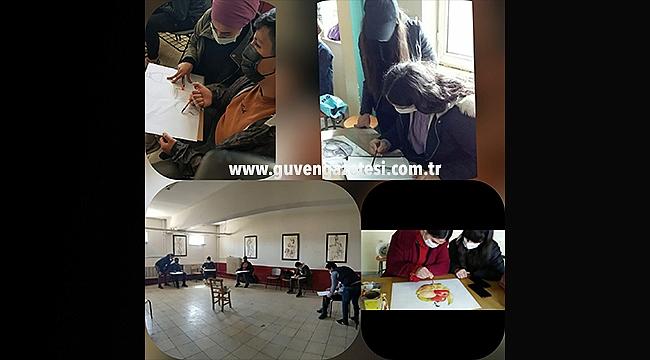Iğdır'da Meslek Liseleri Arasında Dayanışma Sergileniyor