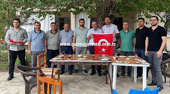 TÜRKAV'dan Şehit Ailesine Ziyaret