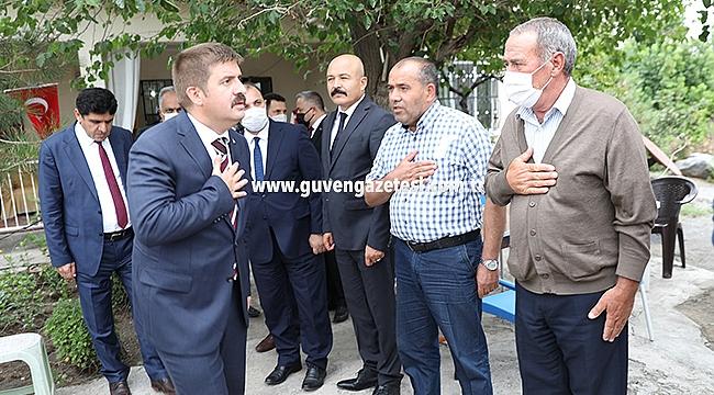 Vali Sarıibrahim'den Şehit Bülent Aydın'ın Ailesine Ziyaret