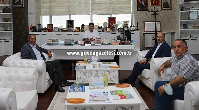26. Dönem Milletvekili Nurettin Aras'tan Rektör Alma'ya Ziyaret