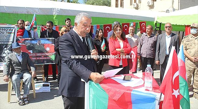 27 Eylül Azerbaycan Şehitleri Iğdır'da Anıldı