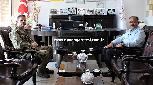 Albay Baş'tan İl Tarım ve Orman Müdürü Yolcu'ya İade-i Ziyaret