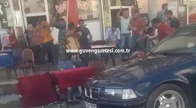 Kahvehanede Feci Kavga: 5 Yaralı